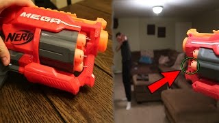 getlinkyoutube.com-THE DEADLIEST NERF GUN EVER! *DO NOT TRY THIS*