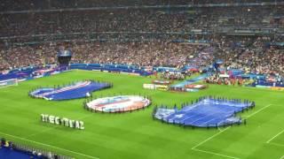 vuclip FRA - ISL - Euro 2016 - Entrée des joueurs + Hymnes