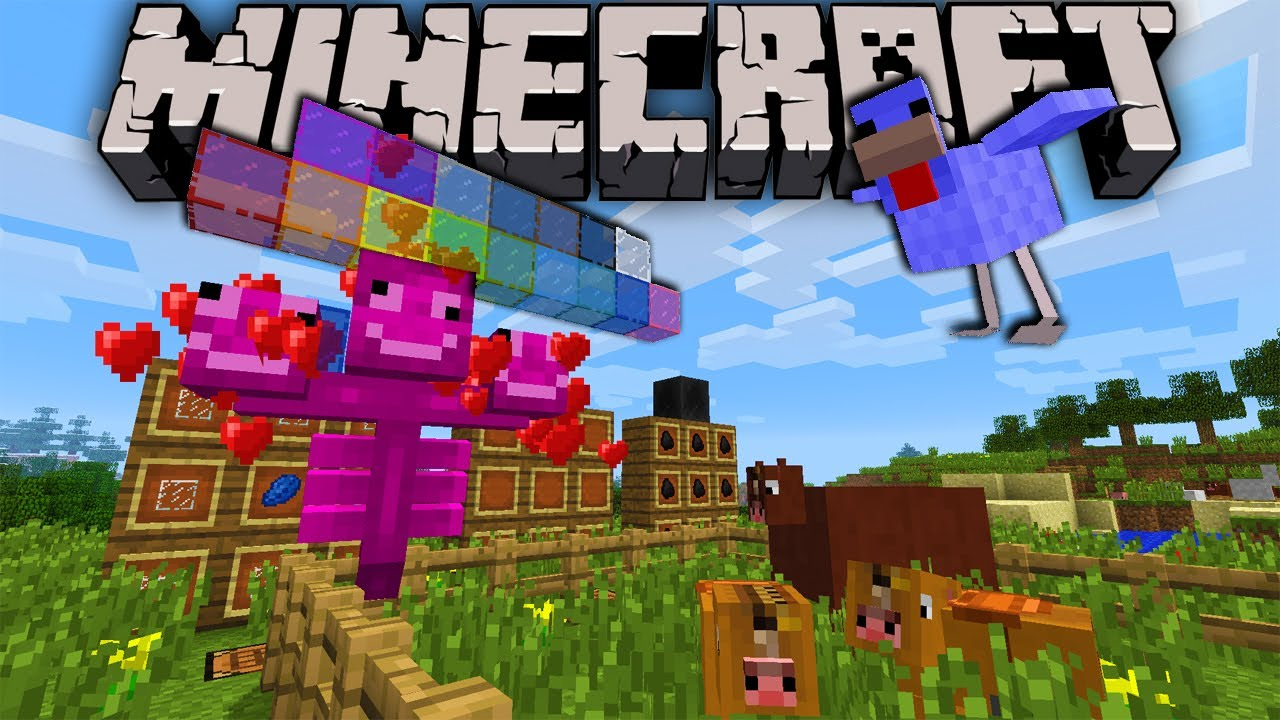 minecraft 2 0 snapshot exploding horses dyed glass diamond chicken coal block pink wither. Black Bedroom Furniture Sets. Home Design Ideas