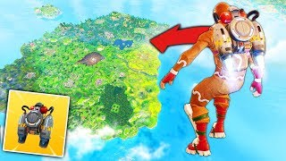 *JETPACK* PAST MAX HEIGHT in Fortnite Battle Royale