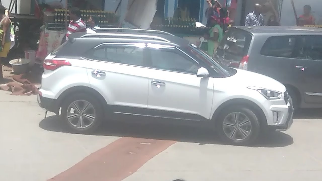 Creta 2017 White >> Hyundai creta dual tone 2017 India - white with black - YouTube