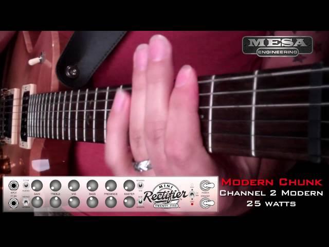 MESA/Boogie Mini Rectifier Ch. 2 MODERN – Chunk