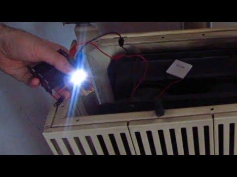 turn heat into electricity peltier element youtube. Black Bedroom Furniture Sets. Home Design Ideas