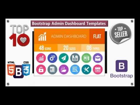 Top 10 Responsive Bootstrap Dashboard Templates For Websites