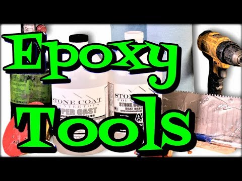 Epoxy Tools for Epoxy Projects