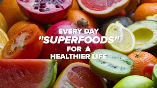 11 Everyday Foods For A Longer, Healthier Life