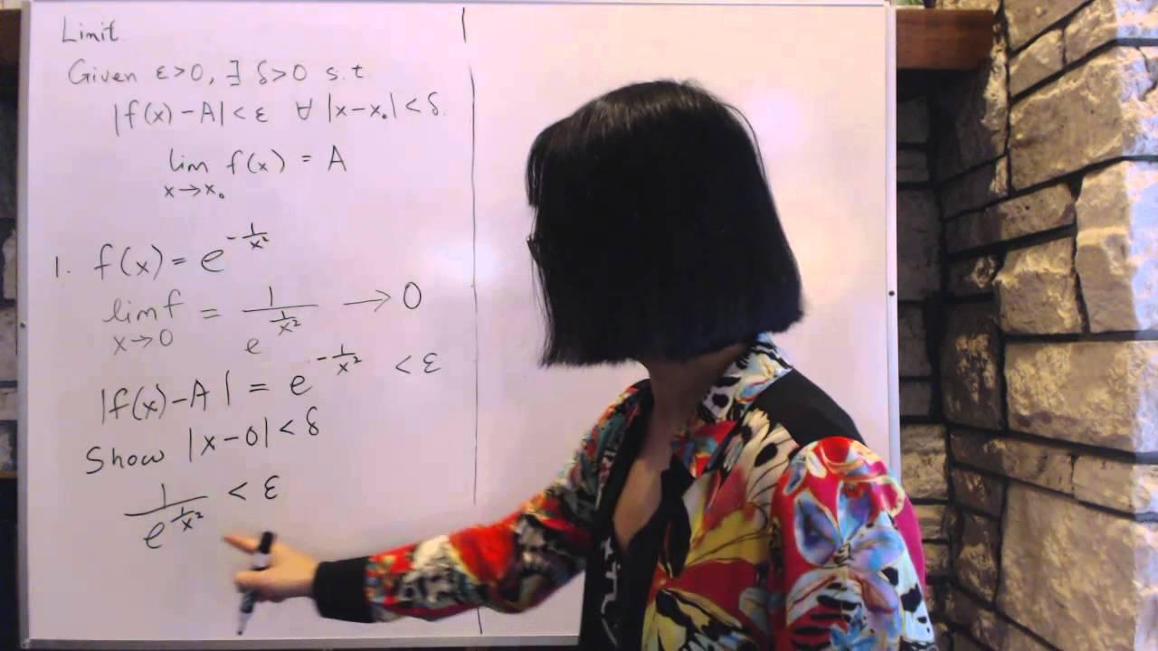 Advanced Calculus 1 1 Limits