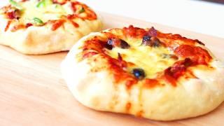 Mini Stuffed Crust Pizza - Video Recipe