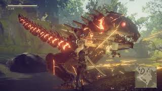 NieR : Automata , сражаемся с динозавриком :3 [C/D]
