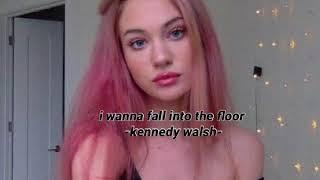 empty arena + rain i wanna fall into the floor by Kennedy Walsh