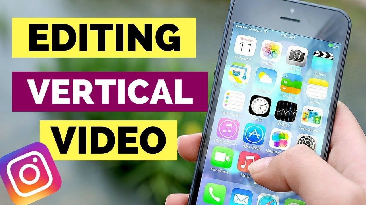 EASIEST WAY TO MAKE & EDIT VERTICAL VIDEO (Instagram Stories & Snapchat)