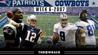 Most HYPED UP Dallas Regular Season Game Ever! (Patriots vs. Cowboys 2007, Week 6)