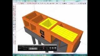 Как самому построить комплекс барбекю урок №2