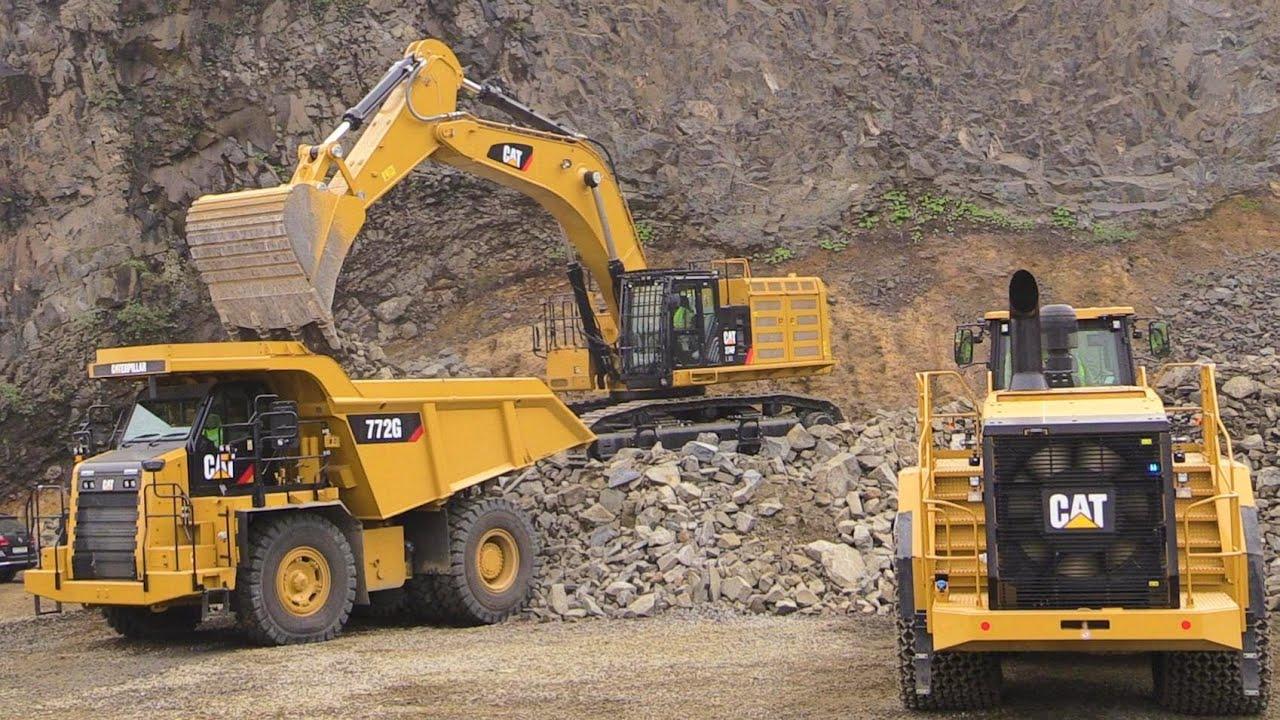 Caterpillar Demo Show Cat 374f Excavator 988k