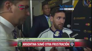 Messi's full Interview: Announces Retirement (Full HD With English Subs)