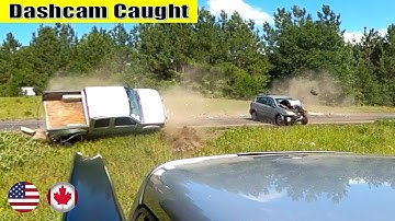 Ultimate North American Cars Driving Fails Compilation - 183 [Dash Cam Caught Video]