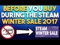 You NEED to Know This BEFORE Buying from the Steam Winter Sale & CRAZY DBZ FighterZ Min Requirements