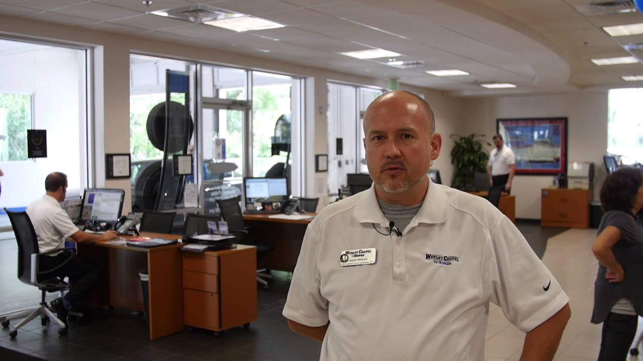 Marvelous Welcome To The Wesley Chapel Honda Service Department