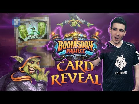 RDU Hearthstone Boomsday Card Reveal | Power Word: Replicate