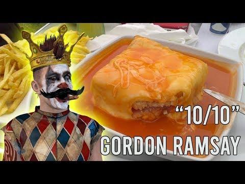 Morais faz francesinha em direto e leva Gordon Ramsay à emoção