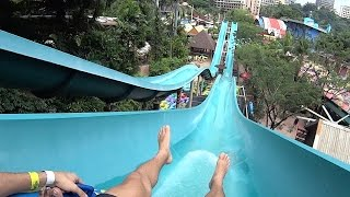 Cameroon Climb Water Slide at Sunway Lagoon