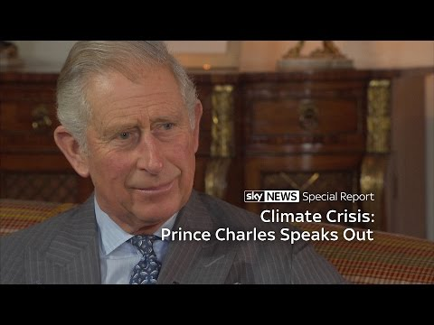 Prince Charles Speaks Out On Global Climate Crisis