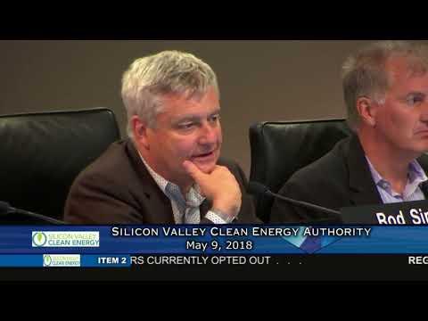 SVCEA Board of Directors Meeting - May 9, 2018