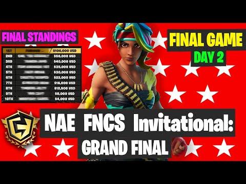 FNCS Invitational NA East GRAND FINAL Game 6 Highlights - Fortnite FNCS Final Results