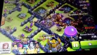 Clash of clans:TOWNHALL 10 No defences