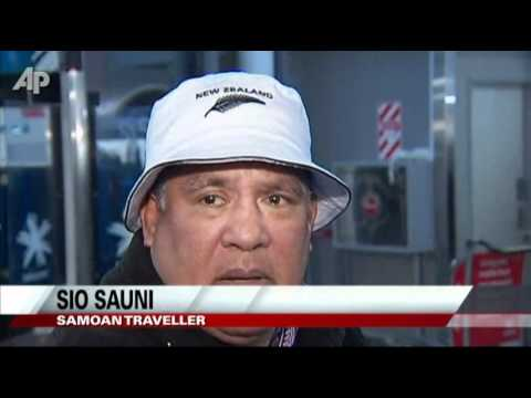 Samoa Crosses International Dateline