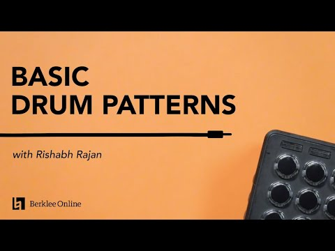 Performing Basic Drum Patterns   Electronic Music Performance Techniques 5/23
