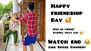 Happy Friendship Day 🥰 ~ Har Ek Friend kamina hota hai ~ Whatsapp Status ~ Dushyant Kukreja #shorts