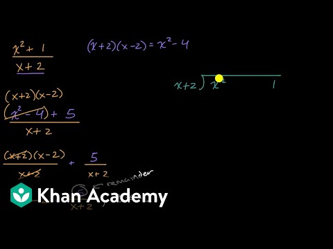 Another polynomial division with remainders example