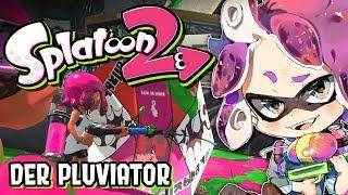(Mikrofon fehler) Mit dem Pluviator in die Schlacht! | Splatoon 2