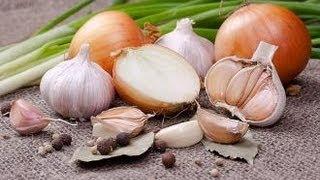 ما هي فوائد الثوم والبصل؟؟؟