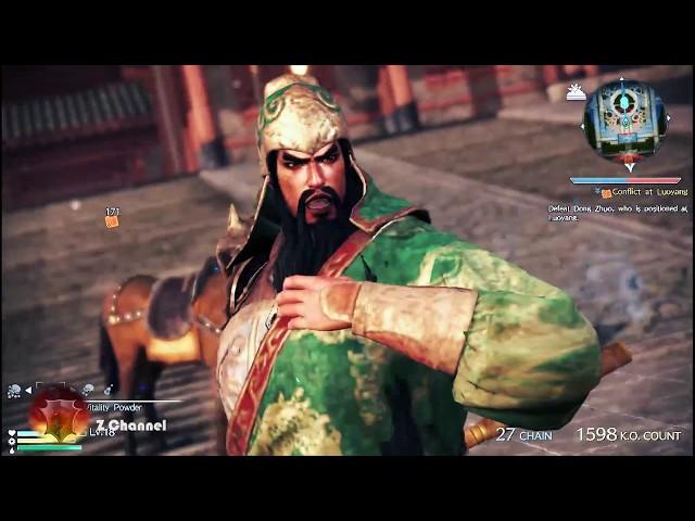 [Z Channel] | [Gameplay] | Dynasty Warrior 9 - Võ Thánh tung hoành!!!