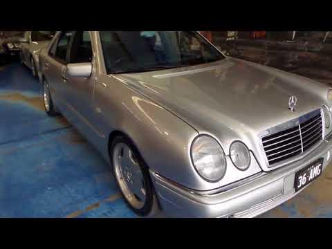 Mercedes Benz E36 AMG 1996 silver