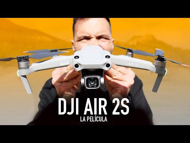 DJI AIR 2S   Unboxing y especificaciones en ESPAÑOL