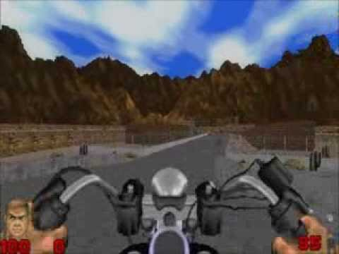 Fully working motorcycle for Doom 2 with download link and test map