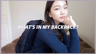 What's in my backpack (of a senior graduating in 19 days 🤠) thumbnail