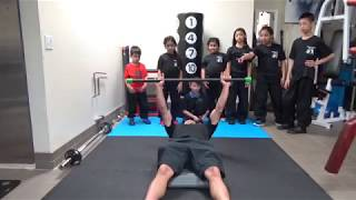 Kung Fu Kids - Bench Press Challenge