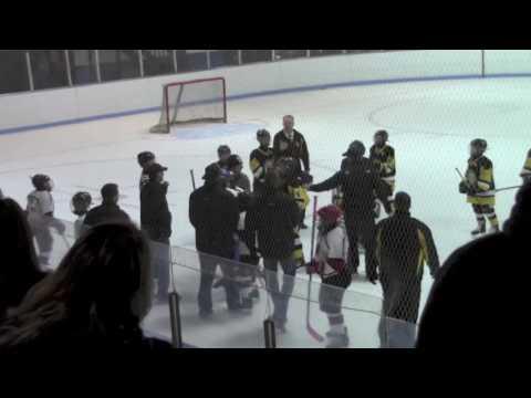 G2 End Of Game Monroe County Eagles Vs Niagara Falls Flyers Oct 22 2016