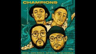 Champions written : mario zwinkle, tuan tigabelas, sonjah, matter mos produced sonjah artwork salman lyrics: http://tiny.cc/championslyric reach us sonja...