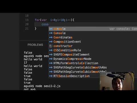 Full Stack Web Developer - Sesi 1: Pemrograman Node.js