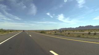 Arizona State Route 85 Highway north of Gila Bend, Arizona, May 9, 2014,  GP036829