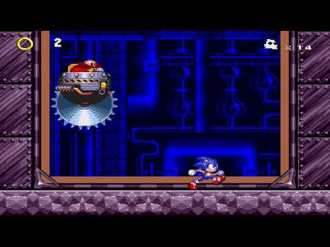 Sonic 3 & Knuckles: Hard Bosses Edition (Museum Act 1 Boss).