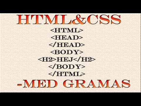 HTML & CSS Svenska - 26 - Class