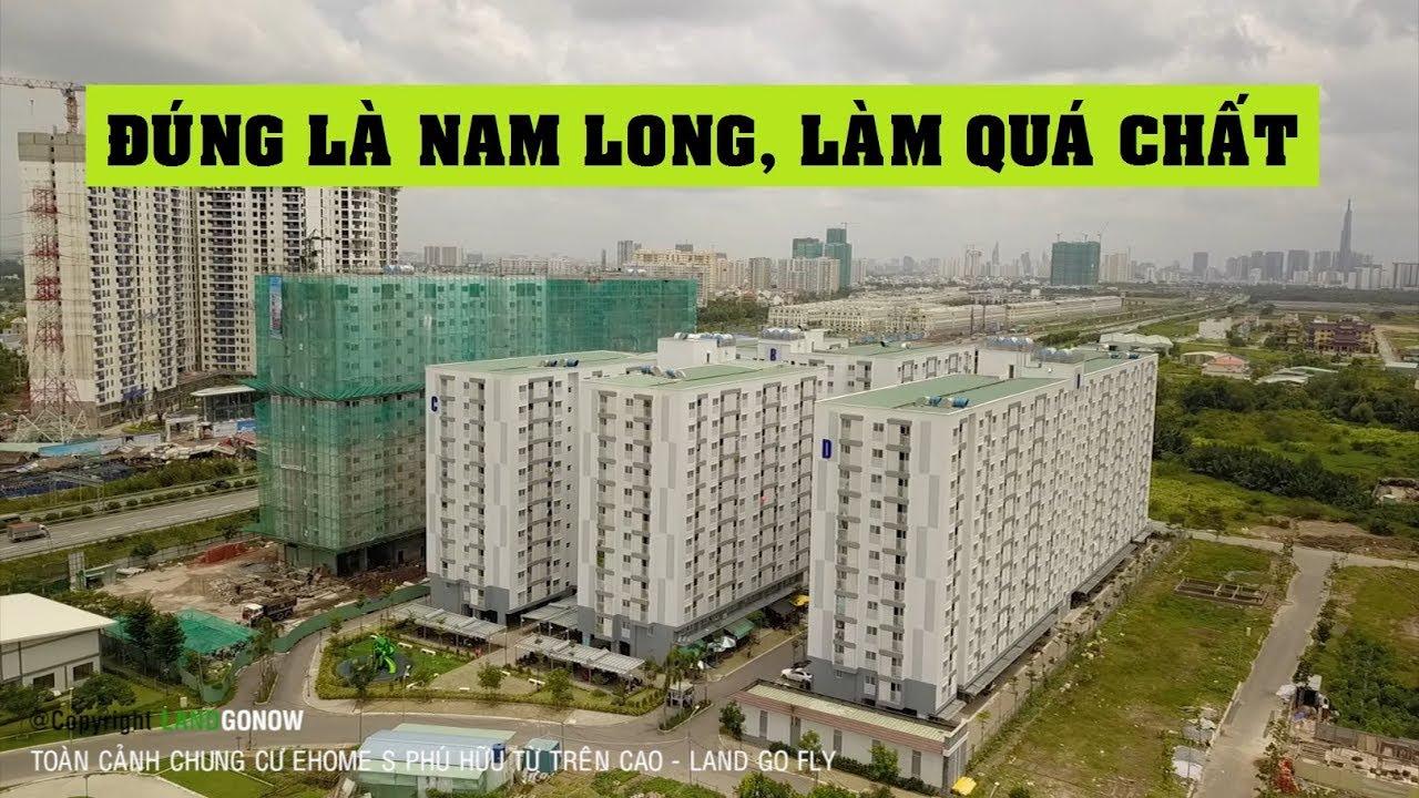 Toàn cảnh căn hộ Ehome S Nam Long, Phú Hữu, Quận 9 – Land Go Fly ✔