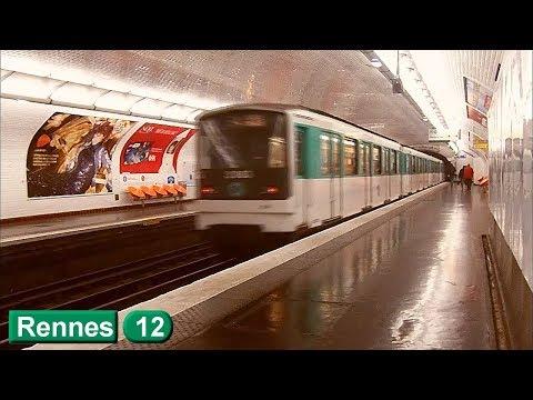 Rennes | Ligne 12 : Métro de Paris ( RATP MF67 )