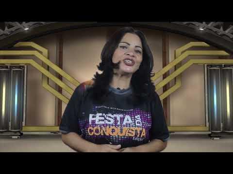 Rosana Pedraça🙋, gravação no studio, para festa da conquista.